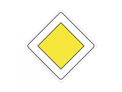 Ромбовидные дорожные знаки