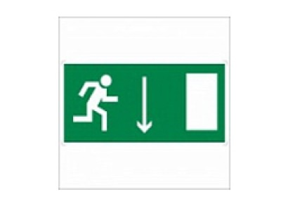 Указатель двери эвакуационного выхода (правосторонний)