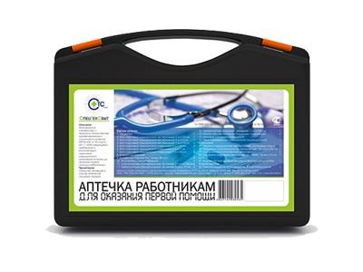 Аптечка для оказания первой помощи работникам (приказ № 169н), пластиковый чемодан