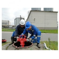 Испытание гидрантов на водоотдачу