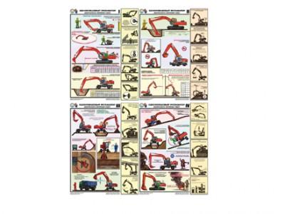 """Комплект плакатов """"Земляные работы: требования безопасности"""""""