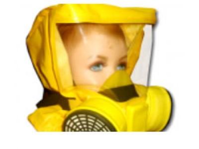 Универсальный фильтрующий малогабаритный самоспасатель (УФМС) «Шанс»-Е (детская модель)