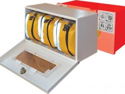 Контейнер для хранения самоспасателей (3 шт.)
