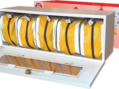 Контейнер для хранения самоспасателей (5 шт.)