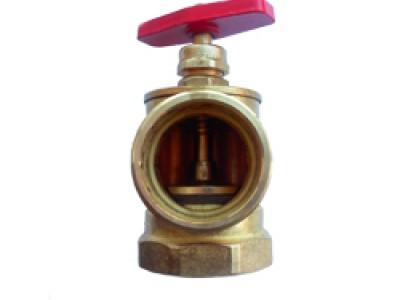 Клапан ДУ-50 угловой латунный (М-Ц)