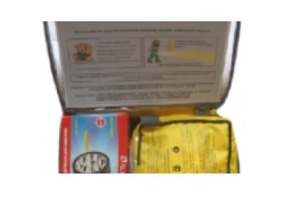 Пожарно-спасательный комплект «Шанс-2Ф» полумаска+фонарь