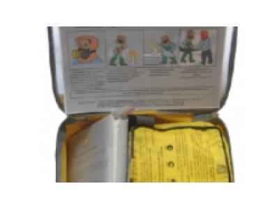 Пожарно-спасательный комплект «Шанс-2Н» полумаска+накидка