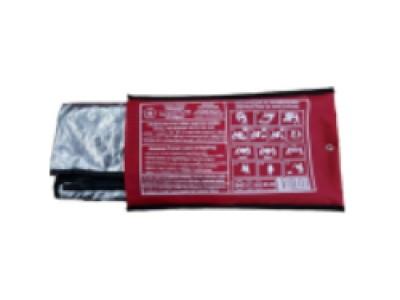 Накидка огнестойкая СОЗН-1-БН, без капюшона (чехол-сумка)