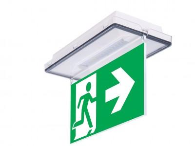 Монтаж систем аварийного освещения