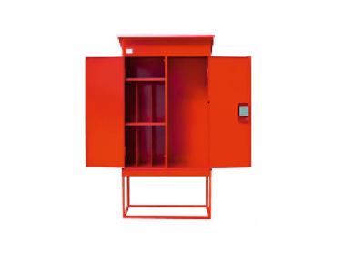 Шкаф для хранения пожарной колонки и огнетушителей