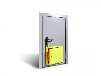 Монтаж/замена противопожарных дверей и люков