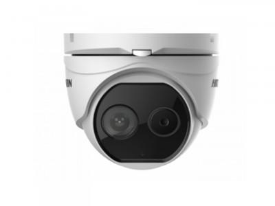 Тепловизионная IP-камера купольная DS-2TD1217B-6/PA