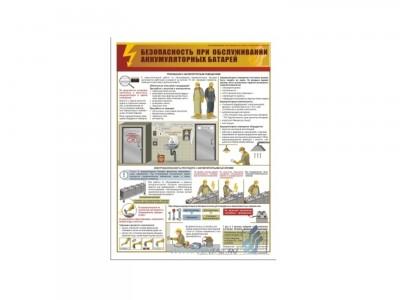 """Плакат """"Безопасность при ремонте воздушных и кабельных линий"""""""