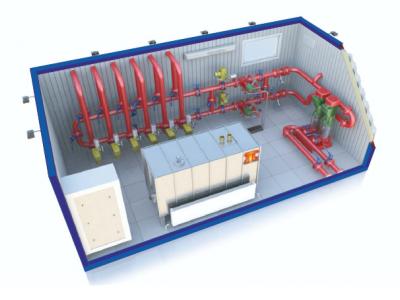 Станция водяного пожаротушения, модульная