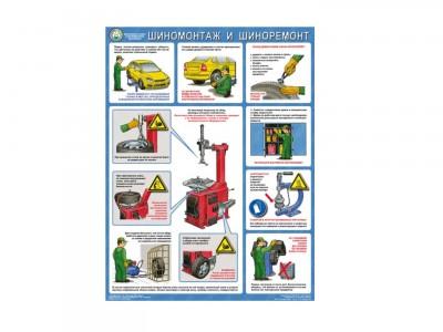 Безопасность работ в авторемонтной мастерской. Шиномонтаж и шиноремонт